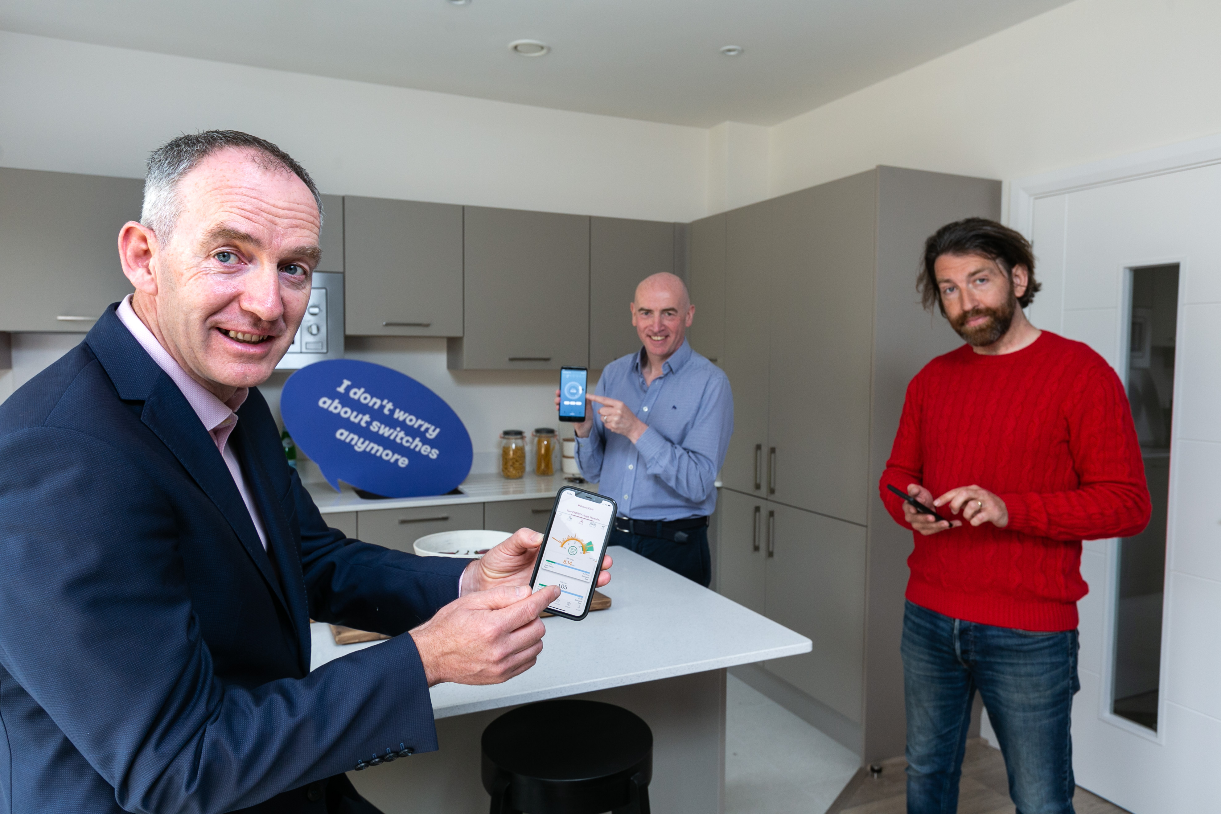 A smarter way to heat water - Pinergy and climote partner to market smart new immersion controller (From left to right) Enda Gunnell, CEO at Pinergy pictured here alongside Eamon Conway, Managing Director of climote and Irish comedian, Colm O'Regan. Pinergy has announced its partnership with climote, one of Europe's leading brands in the home energy technology sector to provide Smart Immersion Controllers as part of a 'Pinergy Lifestyle H2O' plan supporting the sustainable energy needs of families with smart meters.