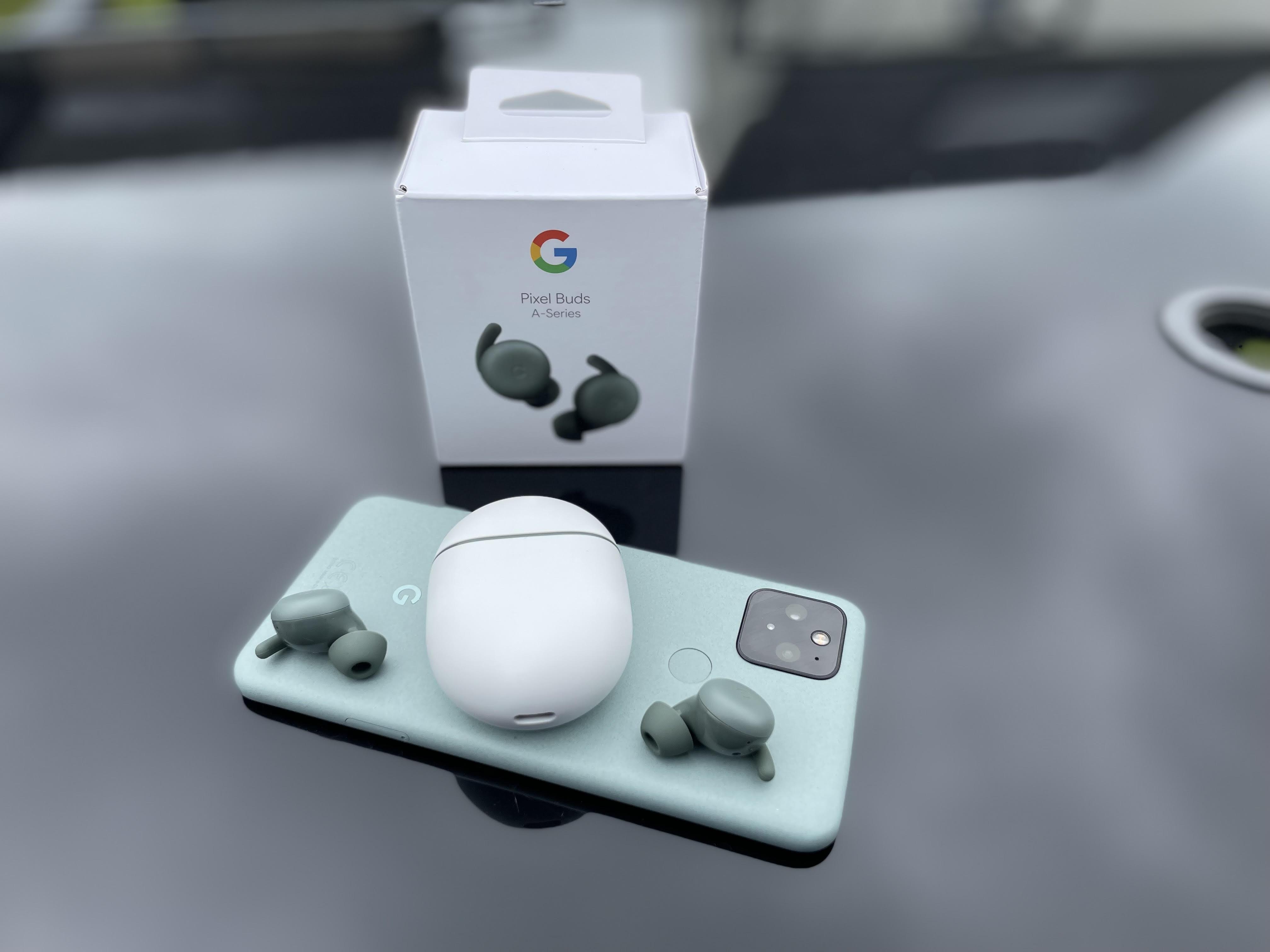 Google pixelbuds A-Series on Pixel 5