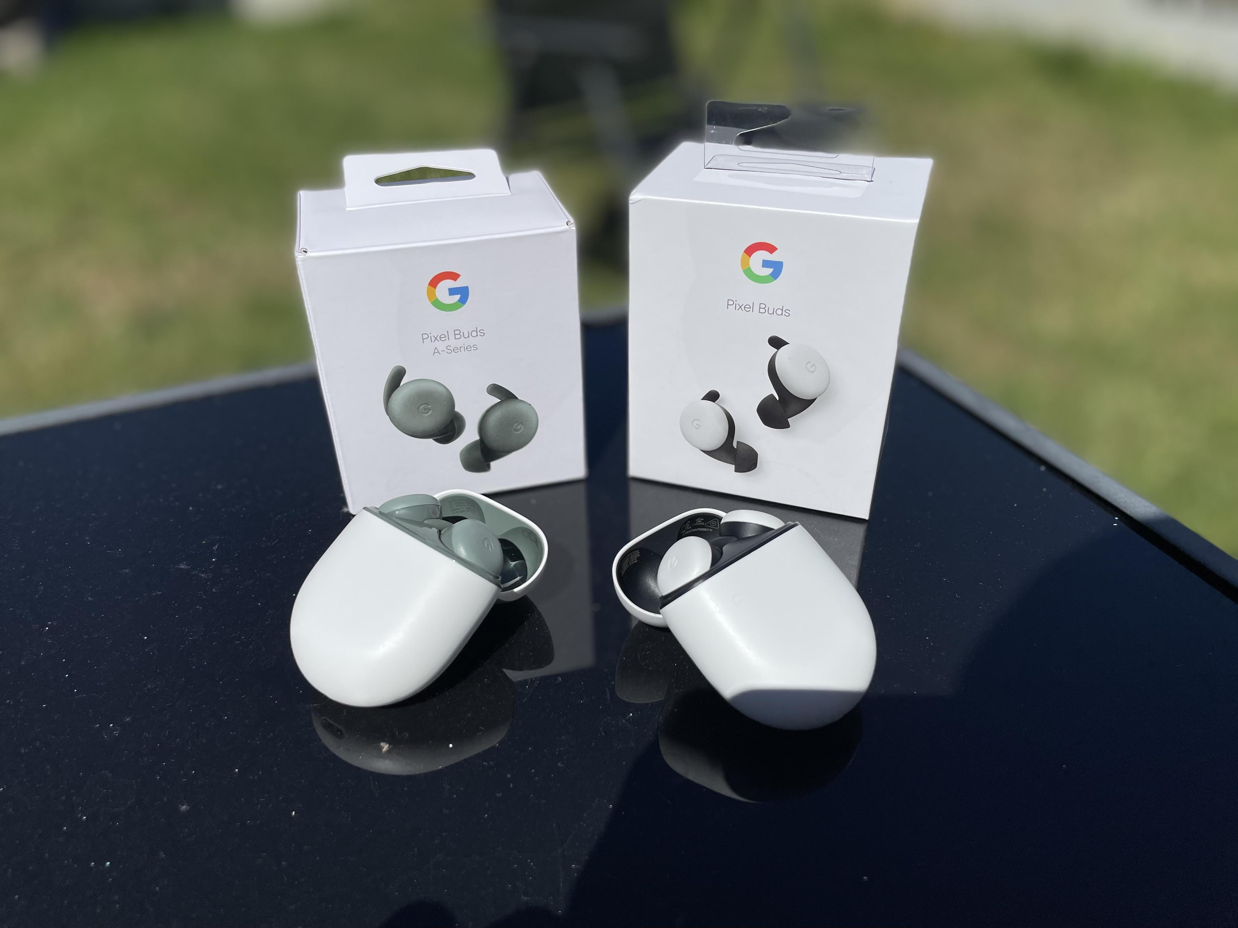 google pixel buds vs pixel buds A-series