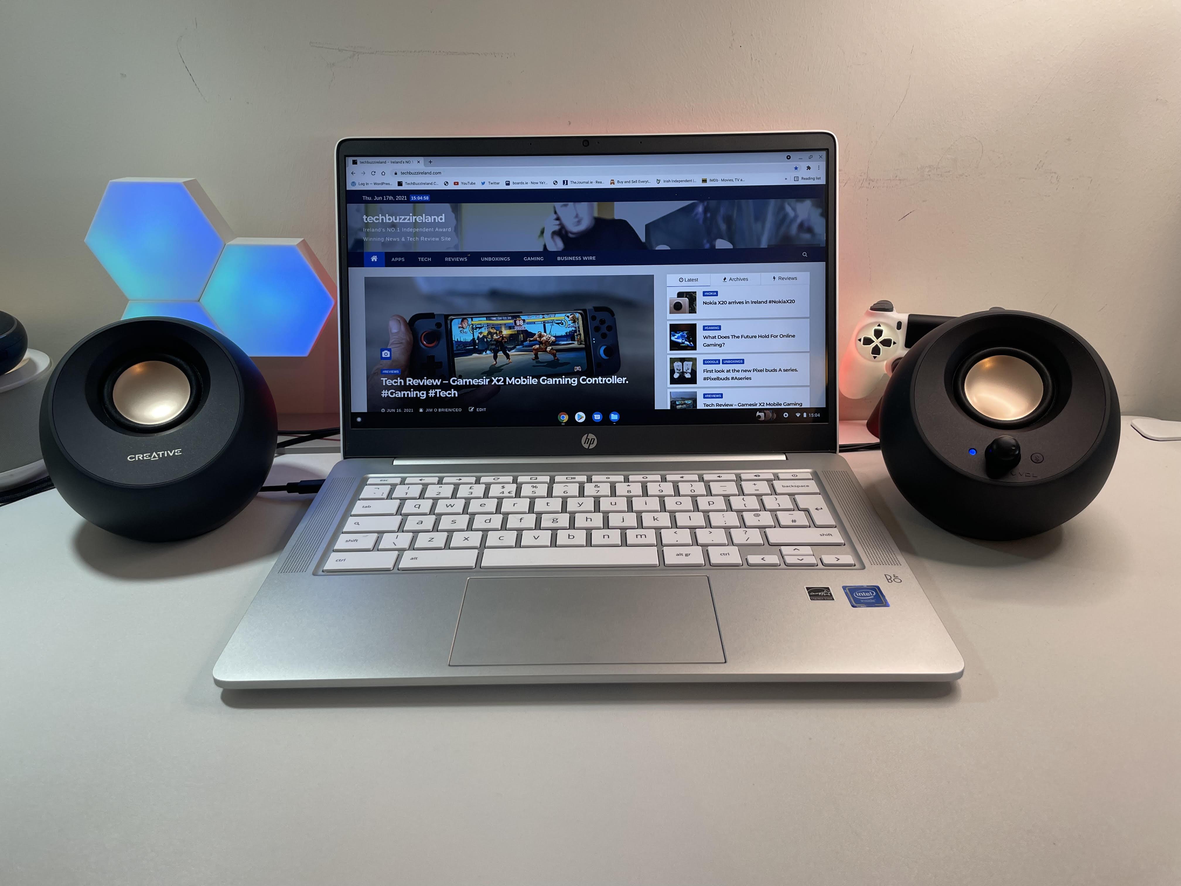 pebble v3 speakers