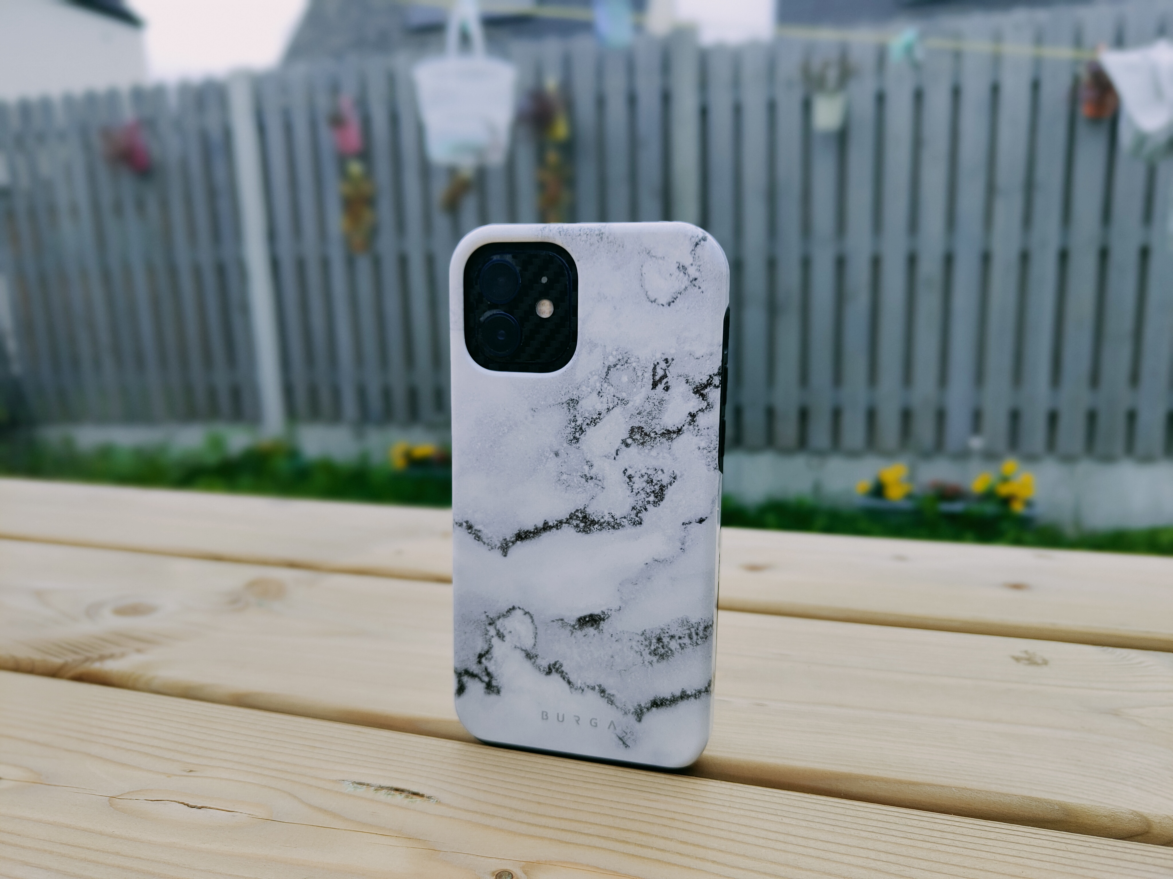 White Winter - Classy Marble iPhone 12 Case
