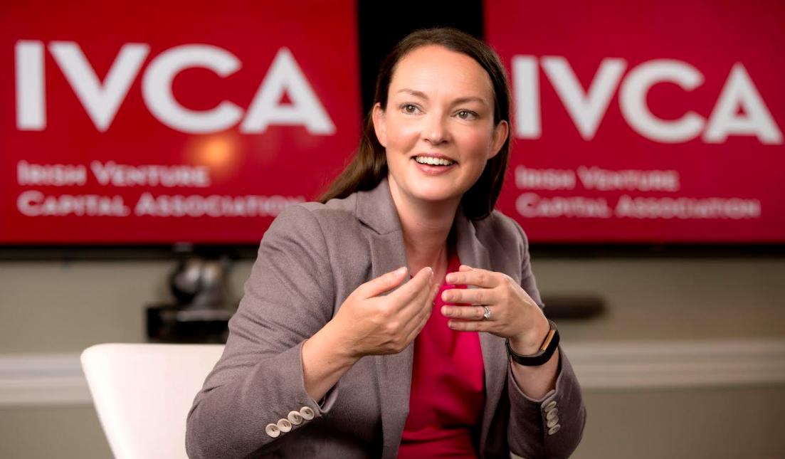 Sarah-Jane Larkin, director general, Irish Venture Capital Association.