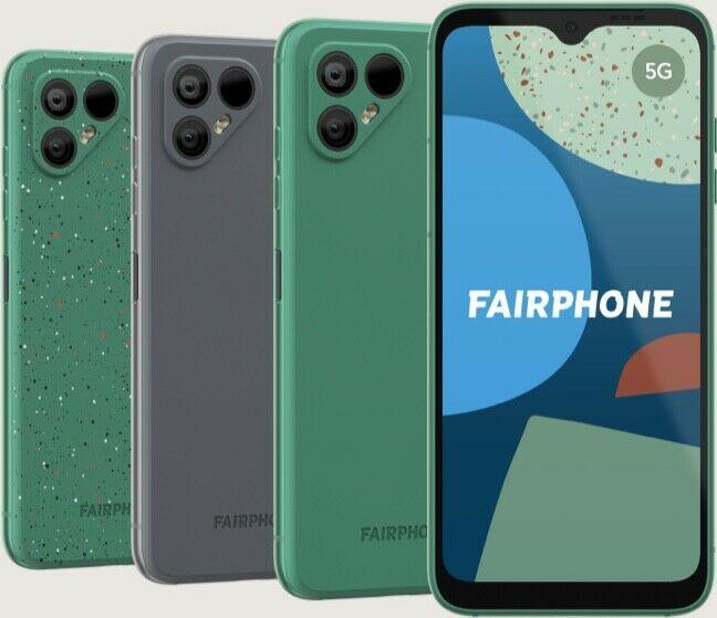 Fairphone all colours