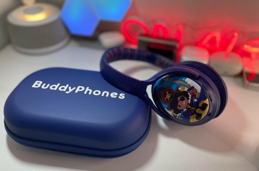Buddyphones cosmos plus headphones for kids. techbuzzireland