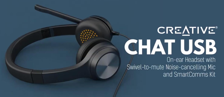 Creative usb-c headset