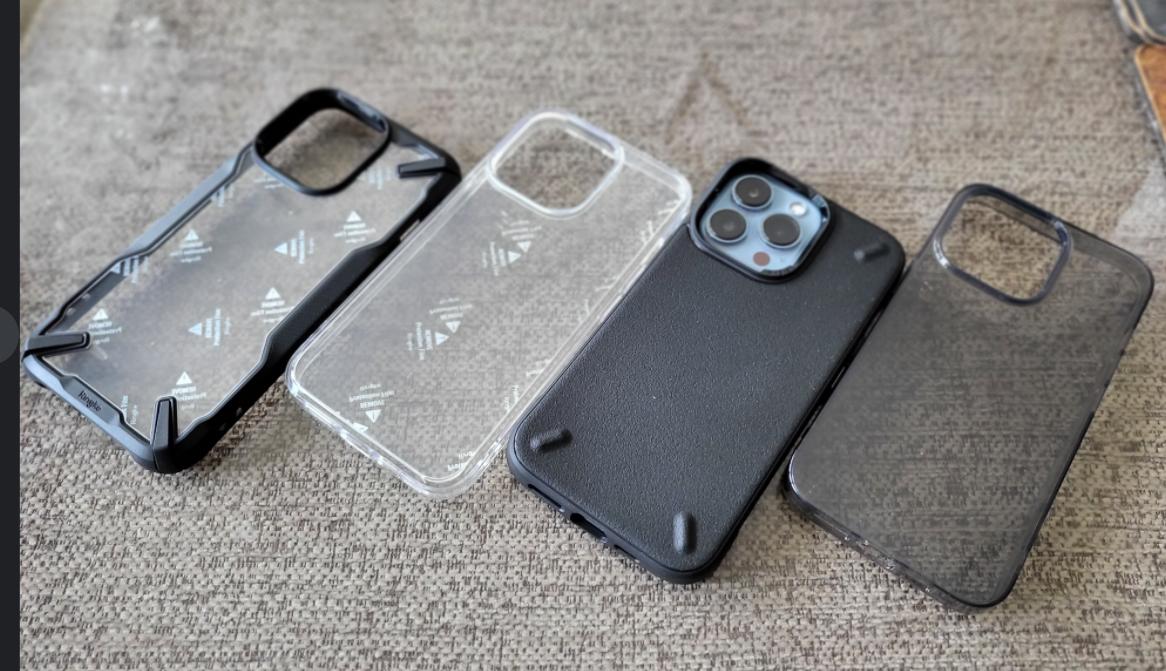 Ringke iPhone 13 Pro case line up techbuzzireland