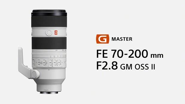 SonyFE 70-200mm F2.8 GM OSS II